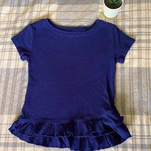 Okie Dokie Girls Blue Shirt